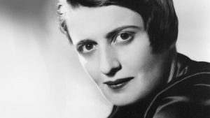 Libertarian thinker and writer Ayn Rand