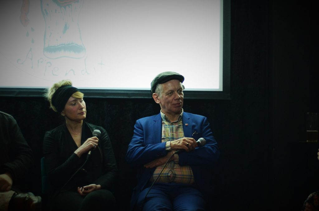 Panel: The Future of the Avant-Garde' Yvonne Salmon and Richard Barbrook