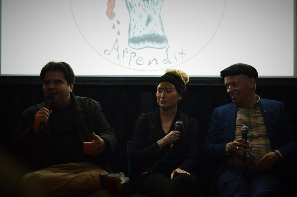 Panel: 'The Future of the Avant-Garde' Greg Scorzo, Yvonne Salmon and Richard Barbrook