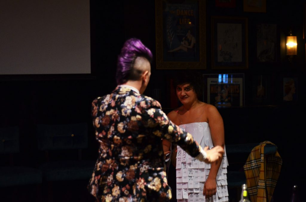 ...the drawing of the raffle.