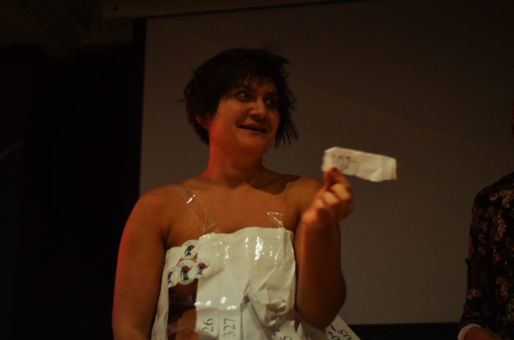 ...the drawing of the raffle